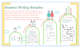 Grade One Writing Samples