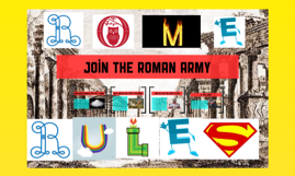 join the roman army
