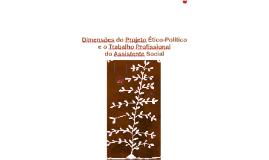 Dimensões do Projeto Ético-Político