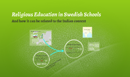 The Significance of Religion in Swedish Schools