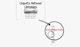 Chipotle National Campaign