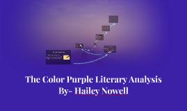Copy of Copy of The Color Purple