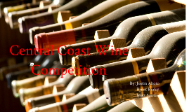 Central Coast Wine Competition Infographics