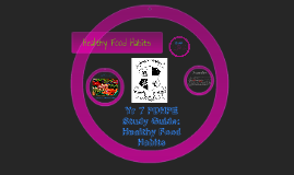 Yr 7 PDHPE Study Guide: Healthy Food Habits