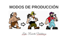 MODOS DE PRODUCCIÓN