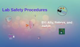 Lab Safety Procedures