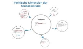 Politische Dimension der Globalisierung