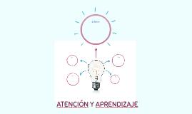 ATENCIÓN Y APRENDIZAJE