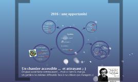 2016 : une opportunité