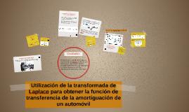 Utilización de la transformada de Laplace para obtener la fu