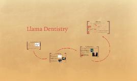 Llama Dentistry