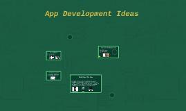 App Development Ideas