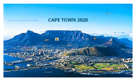 Cape Town Olympic Bid