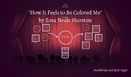 """How It Feels to Be Colored Me"" by Zora Neale Hurston"