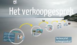 Copy of Verkoopgesprek