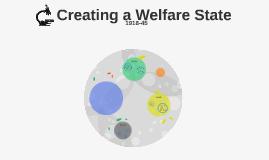 Creating a Welfare State