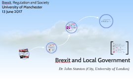 Brexit and Local Government