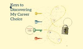 VHHS Keys to Career Choice