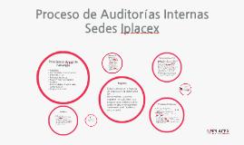 Proceso de Auditorías Internas