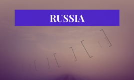 Russia geography project