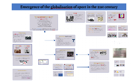 Copy of Emergence of the globalisation of sport in the 21st century