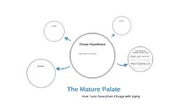 The Mature Palate