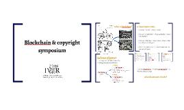 Blockchain & copyright