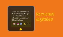 Copy of Recursos digitales