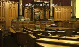 A justiça em portugal