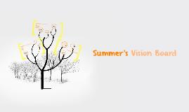 Summer's Vision Board