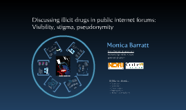 Discussing illicit drugs in public internet forums