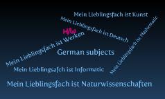 German subjects