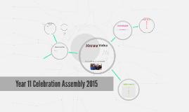 Year 11 Celebration Assembly