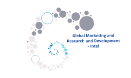 Global Marketing and Research and Development