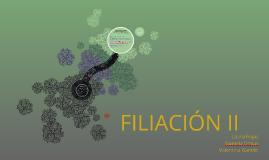 FILIACIÓN II