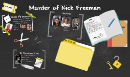 Murder of Nick Freeman