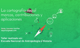 La cartografía social