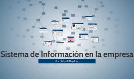 Sistema de Información en la empresa