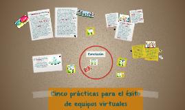 Cinco prácticas para el éxito de equipos virtuales