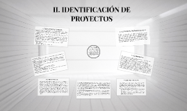 Copy of II. IDENTIFICACIÓN DE PROYECTOS