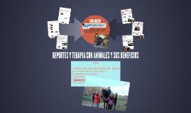 DEPORTES Y TERAPIAS CON ANIMALES Y SUS BENEFICIOS