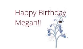 Copy of Megan's Birthday!!