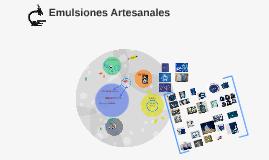 Emulsiones Artesanales