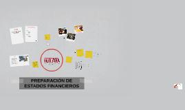 PREPARACIÓN DE ESTADOS FINANCIEROS