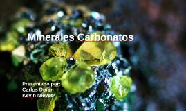 Minerales Carbonatos