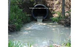 Polluting discharges to water by communities