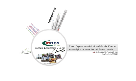 Institucional CONES. 2014