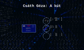 Copy of Csáth Géza: A kút