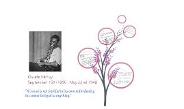 Claude McKay Biography