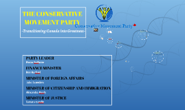 THE CONSERVATIVE MOVEMENT PARTY